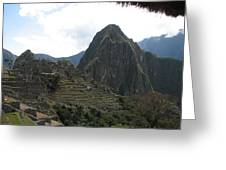 Macchu Picchu 8 Greeting Card