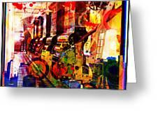 Machine Age-1 Greeting Card by Gary Grayson