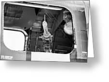 Machine Gun Wwii Aircraft Greeting Card