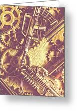 Machine Guns Greeting Card
