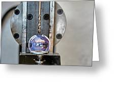 Machinists Drill With Precision Greeting Card