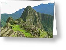 Machu Picchu - Iconic View Greeting Card