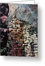 Machu Picchu Ruins- Peru Greeting Card