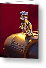 Mack Truck Hood Ornament Greeting Card