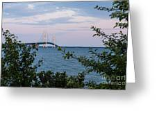 Mackinac Bridge 1 Greeting Card