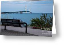 Mackinac Bridge 4 Greeting Card