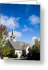 Mackinac Island Church Greeting Card