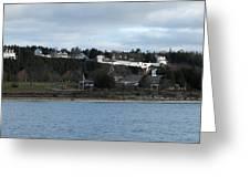 Mackinac Island Panorama Greeting Card