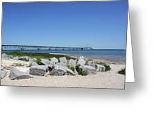Mackinaw Bridge 2 Greeting Card