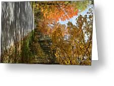 Mack's Mountain Road Greeting Card