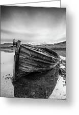 Macnab Bay Old Boat Greeting Card