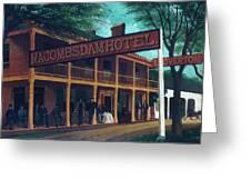 Macomb's Dam Hotel Greeting Card