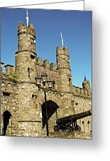 Macroom Castle County Cork Ireland Greeting Card