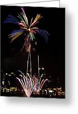 Macy's Fireworks I Greeting Card by David Hahn