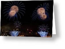 Macy's Fireworks IIi Greeting Card