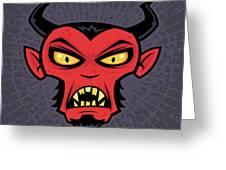 Mad Devil Greeting Card