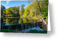 Mad River Waterfall Greeting Card