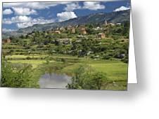 Madagascar Village Greeting Card