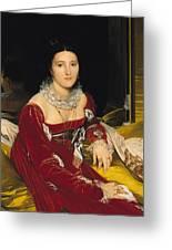 Madame De Senonnes Greeting Card by Ingres