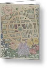 Madame Jumel's Garden Greeting Card