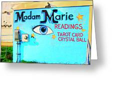 Madame Marie Greeting Card