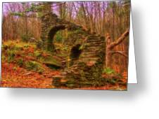 Madame Sherri Castle Ruins Greeting Card