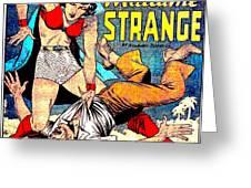 Madame Strange Comic Super Hero Greeting Card