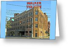 Madame Walker Theater, Indianapolis Greeting Card