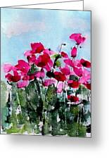 Maddy's Poppies Greeting Card
