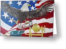 Made In America Greeting Card