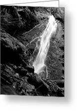 Madison Creek Falls Three Greeting Card