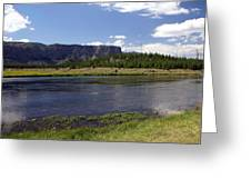 Madison River Valley Greeting Card