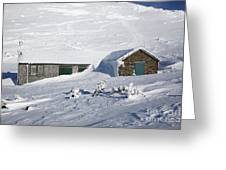 Madison Spring Hut- White Mountains New Hampshire Greeting Card