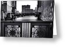 Madison Street Bridge - 3 Greeting Card