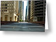 Madison Street Bridge - 4 Greeting Card