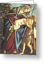 Madonna And Child And The Young St John The Baptist 1495 Greeting Card