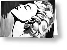 Madonna Greeting Card by Cat Jackson