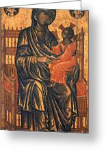 Madonna Icon, 13th Century Greeting Card by Granger