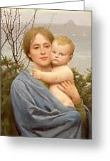 Madonna Of The Mount  Greeting Card