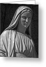 Madonna Of West 96th Street Greeting Card by Robert Ullmann