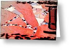 Madrid Mosaic.. Greeting Card