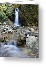 Maekutlong Waterfall Greeting Card