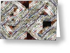 Mag 6 Abstract Painting Greeting Card