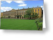 Magdalen New Building Greeting Card