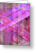 Magenta Haze Greeting Card