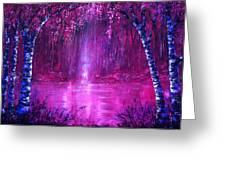Magenta Spring Greeting Card