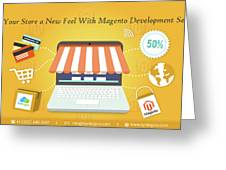 Magento Development Services In Usa Greeting Card