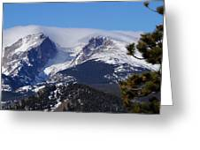 Magestic Mountain Greeting Card