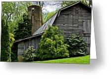 Maggie Valley Barn Greeting Card