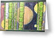 Magic Bamboo Greeting Card